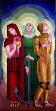 by Angel Zárraga (Mexican 1886-1946)