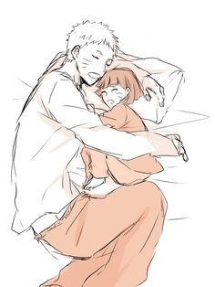 Oh no. No no no no NO! Naruto and Himawari napping! NOOOOOOO, THEY'RE TO CCCUUUTTTEEE!!!
