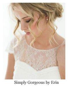 Romantic bridal hair, soft loose curl updo, hairstyle by Simply Gorgeous by Erin. Bridal Hair And Makeup, Wedding Makeup, Wedding Bride, Hair Makeup, Wedding Ideas, Hairstyle Look, Messy Hairstyles, Wedding Hairstyles, Loose Curls Updo