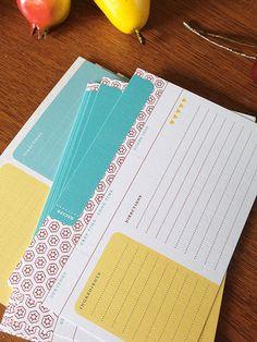Paprika Recipe Cards | One Dozen, Double-Sided | Earmark Social 10.00