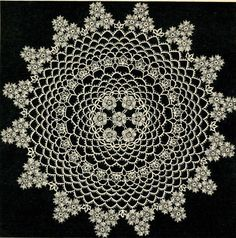 5403 Vintage Tatting PATTERN for Tatted Flower by BlondiesSpot, $1.99