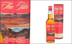 The Isles is the latest edition to the range of regional malts at Charles Hamilton, distinguished by its coral packaging