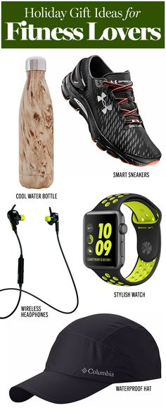 Gift ideas for every fitness lover on your list.