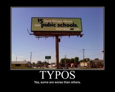 Typos... you can find them anywhere