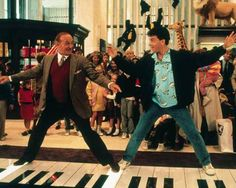 Bet you've always #dreamed of playing #Chopsticks on the huge #piano just like #TomHanks - Well you can! you can visit the same toy store free of charge in #NewYork called FAO Schwartz.