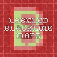 labeled blackline maps