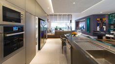 Decor Salteado - Blog de Decoração | Construção | Arquitetura | Paisagismo: 20 Cozinhas Integradas às Salas! Veja dicas e tendências de decoração!