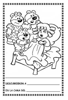 Ricitos de Oro y los tres osos - Laura Lucia Benavides Bernal - Picasa Web Albums Rainy Day Activities, Book Activities, Goldilocks And The Three Bears, 3 Bears, Spanish Activities, Young Ones, 3 Things, 3 D, Fairy Tales