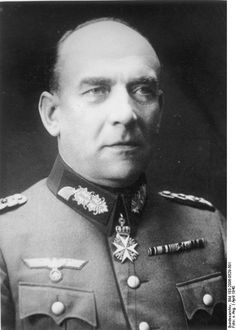 Nikolaus von Falkenhorst was a German General in WW2. He planned and commanded the German invasion of Denmark and Norway (Unternehmung Weserübung) in 1940, and was commander of German troops in the Arctic from 1941 to 1944. After the war, he was imprisoned until 1953, although originally sentenced to death, and passed away in 1968.
