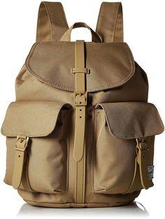 de9705ba6c Herschel Supply Co. Dawson XS Backpack Kelp Brown Magnetic Flap Cinch Book  Bag  Herschel