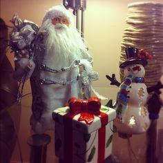 White santa claus