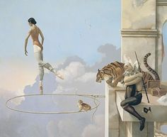 Michael Parkes, artist I have four Michael Parkes works in my home.