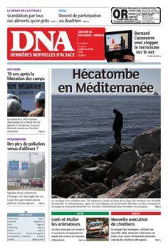 Une du DNA du 20/04/2015