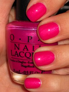O.P.I. Passion for NY Fashion a perfect pink for Breast Cancer Awareness