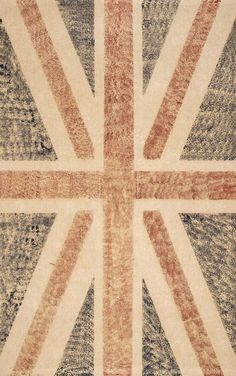 Maui Union Jack Flag Rug