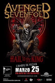 Avenged Sevenfold, 25 de marzo, Palacio de los Deportes #A7XMx