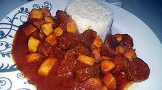 recette Encornet à la sauce tomate et au curry