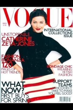 Vogue Catherine Zeta jones