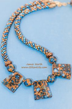 Mosaic Necklace - Glitz n Kitz