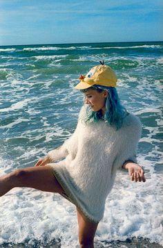 The Oh Land Nylon Magazine Image Series is Beach-Ready trendhunter.com
