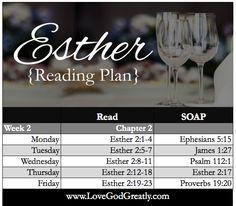 WK 2 Reading Plan