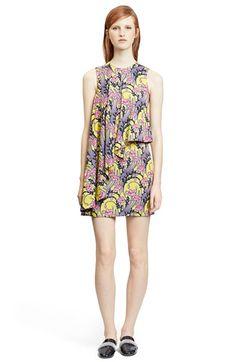 Christopher Kane Abstract print Flounce Dress