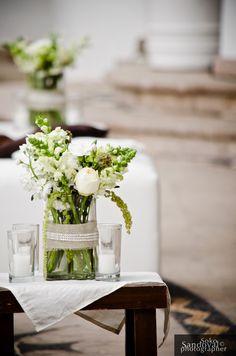 www.thedazzlingdetails.com, wedding table centerpiece