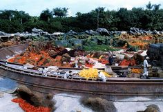 """Magic Kingdom 1984 -  20,000 Leagues Under The Sea... """"Closed For Repairs""""... scrapped and trapped under a far inferior newer ride"""