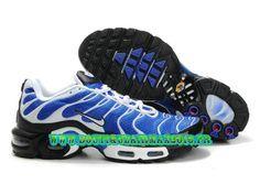 Nike Air Max TN Running Chaussure Pas Cher Homme Bleu/Noir