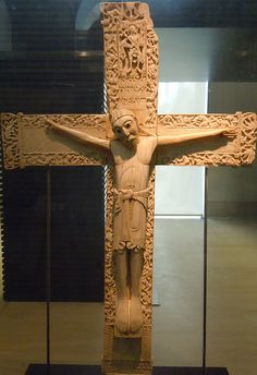 ROMÁNICO.  Cristo de Doña Sancha