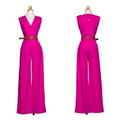 Fucshia Romper (price firm) Fucshia Romper                                                        95% Polyester                                                              5% Spandex Pants Jumpsuits & Rompers