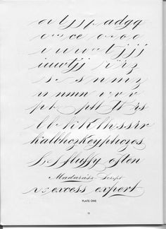 "A page from ""Becker's Ornamental Penmanship and Draftsman"