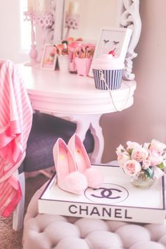 I'll show you the changes I've made that includes the most girly & pink decor. Pink Love, Pretty In Pink, Tumblr P, Tout Rose, Mode Chanel, Rosa Pink, Confessions Of A Shopaholic, Princess Aesthetic, Just Girly Things