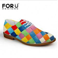 quality design 94872 3d248 FORUDESIGNS Fashion Retro Moccasins Men Oxford Shoes Lace-Up Men Flat Shoes  Soft Men Casual
