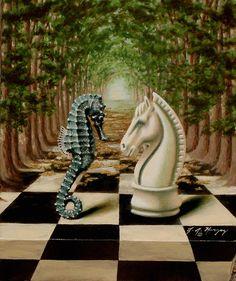 seahorse | Seahorse | Hippocampus | Natural History Art ...