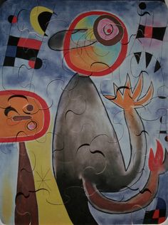Puzzle pour enfant Joan MIRO