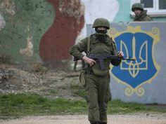 Russian siege of Ukrainian military base in Crimea
