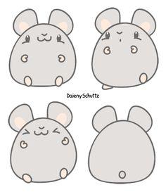 Chibi Hamster by Daieny.deviantart.com on @DeviantArt