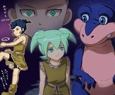 The time of the dinosaurs - Inazuma Eleven ~ DarksideAnime
