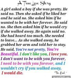 A True Love Story Quote love love quotes quotes quote love quote love images love quotes and sayings love quotes for her love pics love quotes for him romantic love quotes best love quotes