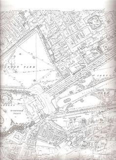 London map, 1871.