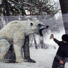 Cellograffiti Bear, Super cool!