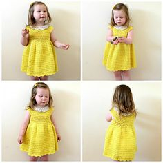 Craft Passions: Toddler Summer Dress#Free # pattern link here