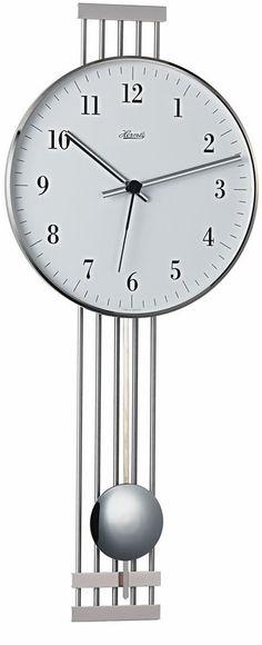 Sterling Amp Noble Scroll Pendulum Wall Clock Wrought Iron