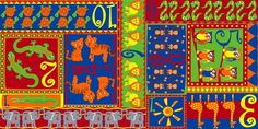 Counting Animals Children's Wall to Wall Carpet