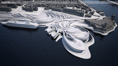 "Marseille Mix  diploma project 2011                    ""Marseille Mix  - synchronization of infrastructural, environmental and cultural flow..."