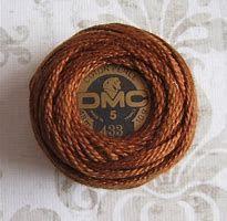 DMC Pearl Cotton 5 433 Medium Brown 10 gram ball 100% Cotton Medium Brown, Pearls, Cotton, Beads, Gemstones, Pearl
