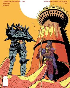"The solicit for the return of HEAD LOPPER!  HEAD LOPPER #5 Story / Art / Cover A: Andrew MacLean Cover B: Tony Sandoval Published: March 15, 2017 Diamond ID: JAN170690  NEW STORY ARC ""IN THE SHADOW OF THE TOWER"" Norgal and Agatha are back! A daring new adventure awaits, looming like the Crimson Tower, home of Ulrich the Twice Damned, sworn enemy of Zhaania Kota Ka. With old friends and new, our heroes boldly enter the bloodied pinnacle with bare steel and steady hearts. The quarterly series…"