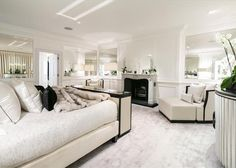 Stylish period house in Mayfair London, on the market Sofa, Couch, Period, Bedrooms, Home And Garden, Real Estate, London, Stylish, Furniture