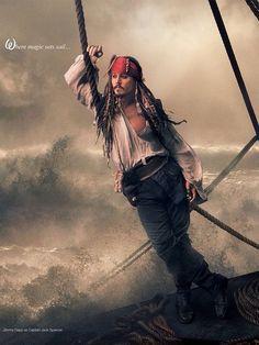 Where magic sets sail  #JohnnyDepp
